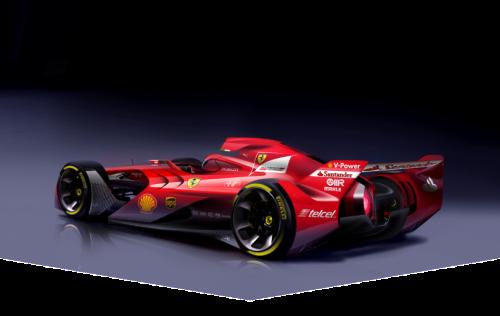 Ferrari Future of Formula 1 Car Design - 02