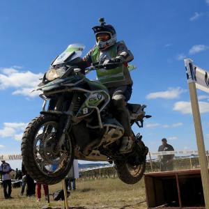 Competidor BMW Motorrad GS Trophy México 2015