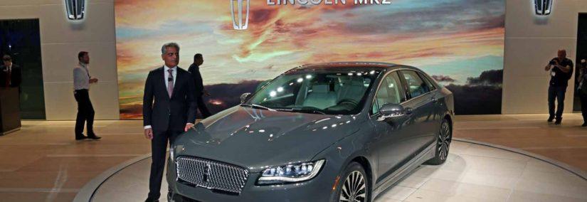 Presentación Lincoln MKZ en el Auto Show de Los Angeles 2015