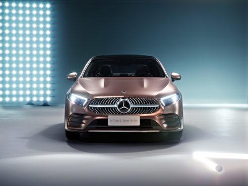 Mercedes-Benz Clase A Sedán Frente
