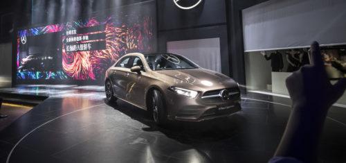 Mercedes-Benz Clase A Sedán Presentación