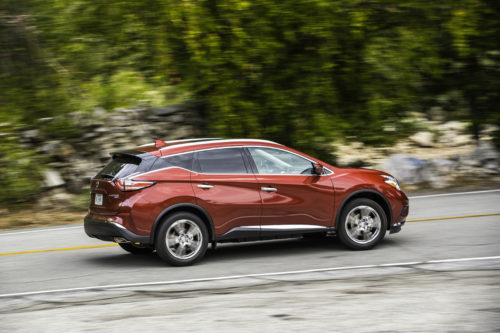 Nissan Murano lateral