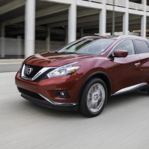 Nissan Murano dinamica frente