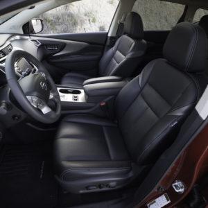 Nissan Murano asientos delanteros