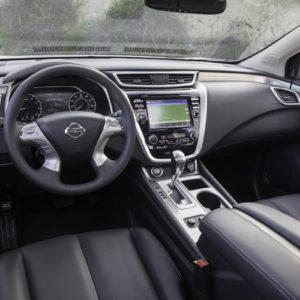 Nissan Murano interior 2