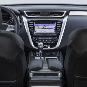 Nissan Murano consola central