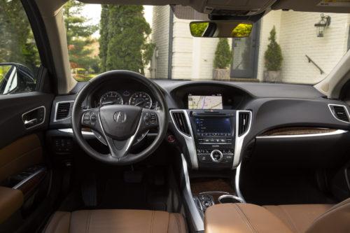 Acura TLX 2019 interior
