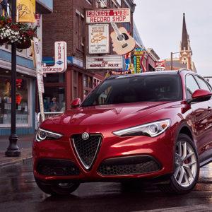 Alfa Romeo Stelvio frontal