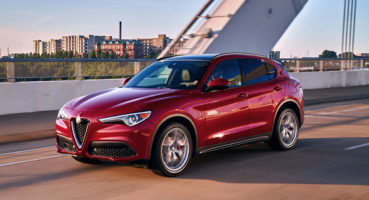 Alfa Romeo Stelvio dinamica frente