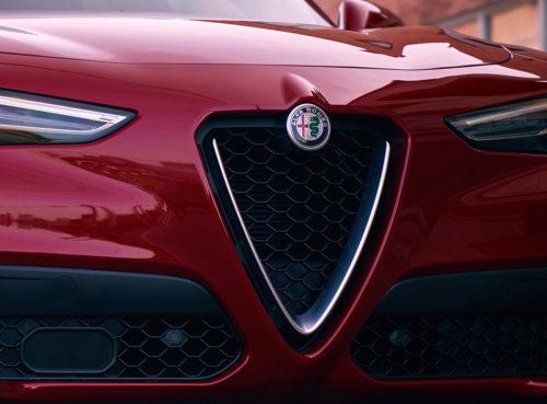 Alfa Romeo Stelvio parrilla