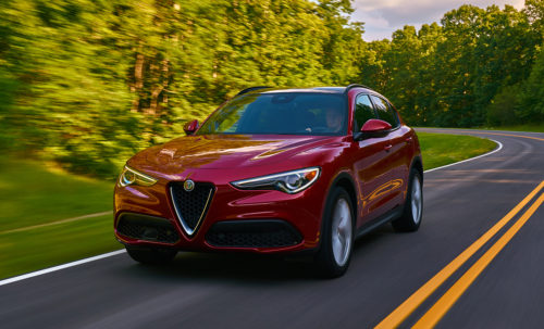 Alfa Romeo Stelvio dinamica