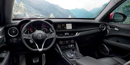 Alfa Romeo Stelvio tablero