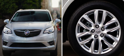 Buick Envision 2019 frontal