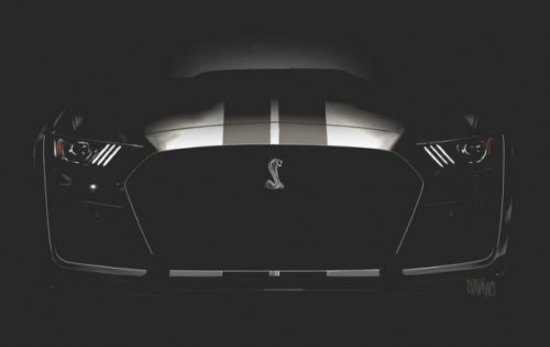 Ford Mustang Shelby GT500 frontal