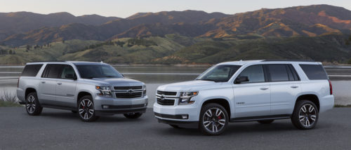 Suburban RST Performance Package vs Tahoe