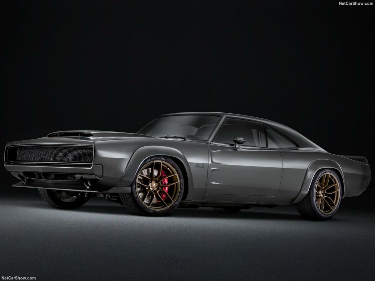 2018 Dodge Charger >> SEMA SHOW 2018: Dodge Super Charger 1968 Concept - CarGlobe