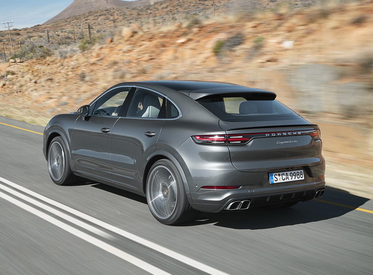 Porsche Cayenne Coupé, entra en la moda - CarGlobe