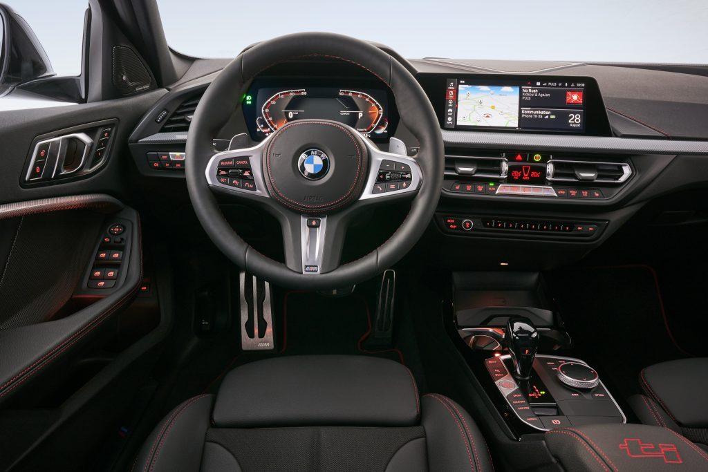 Interior del BMW 128ti